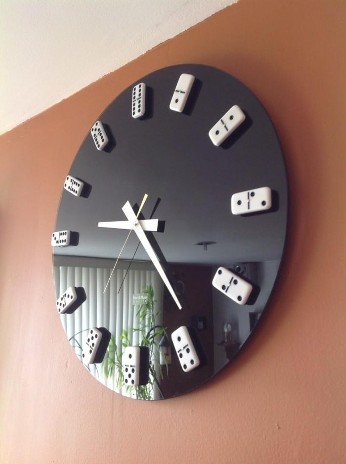 Ideas para hacer un reloj casero reciclado ecolog a hoy - Relojes de pared originales decoracion ...