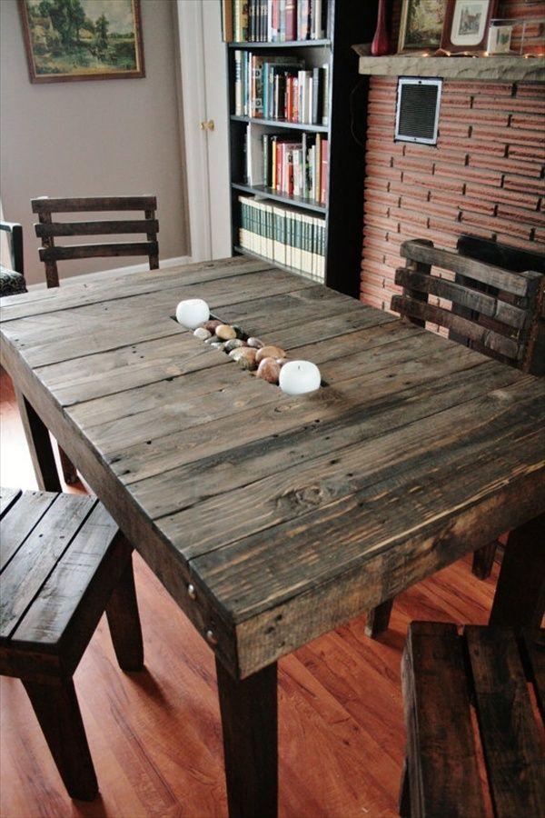 ideas de cmo hacer con palets muebles modernos