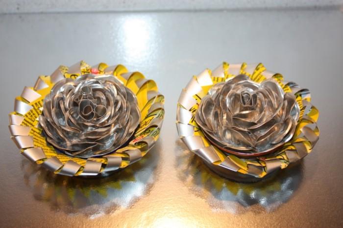Flor-aluminio