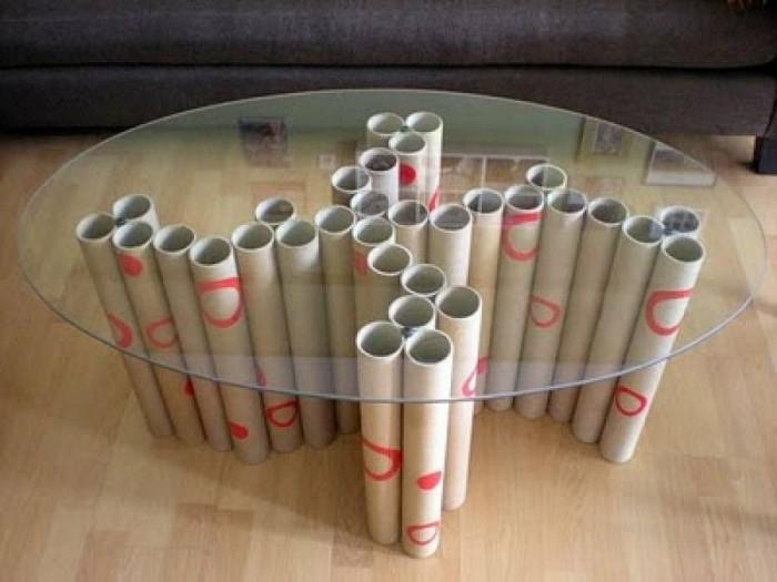 Ideas divertidas para reciclar los tubos de papel - Ideas para reciclar muebles ...