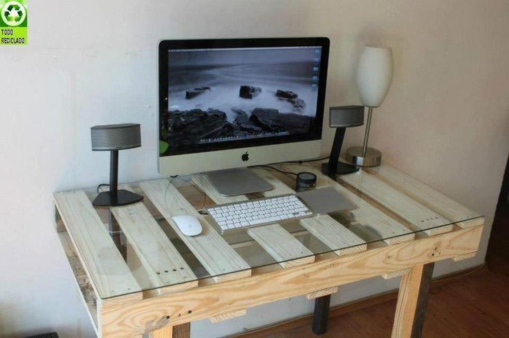 Ideas hechas con palets para el comedor ideas de mesas ecolog a hoy - Mesas de pale ...