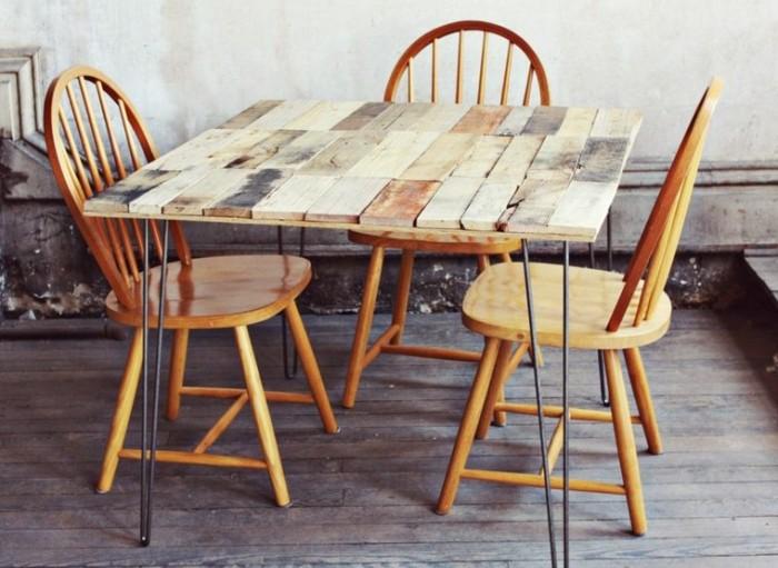 Ideas hechas con palets para el comedor Ideas de mesas – Ecología
