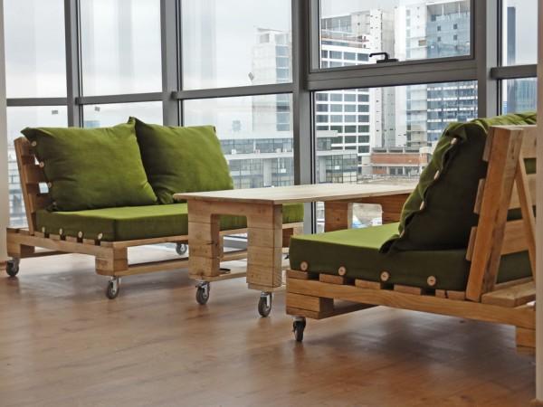 Más de 50 ideas de cómo hacer con palets muebles modernos Ecología