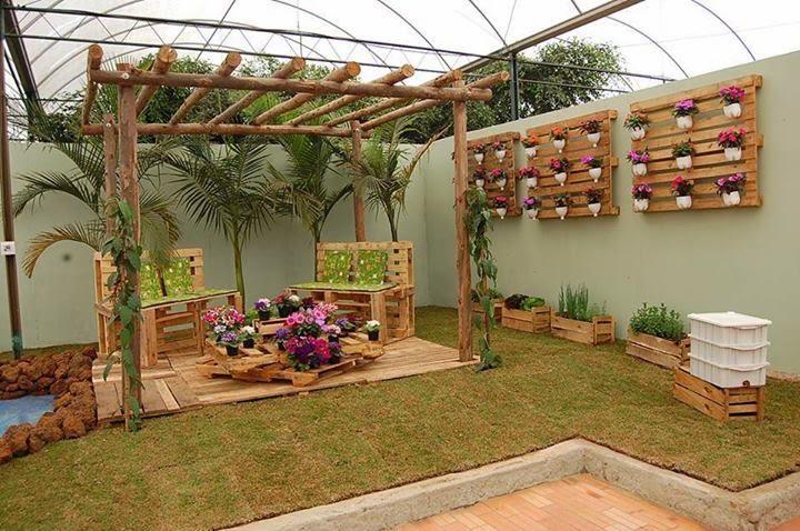 pallet-garden-decoration