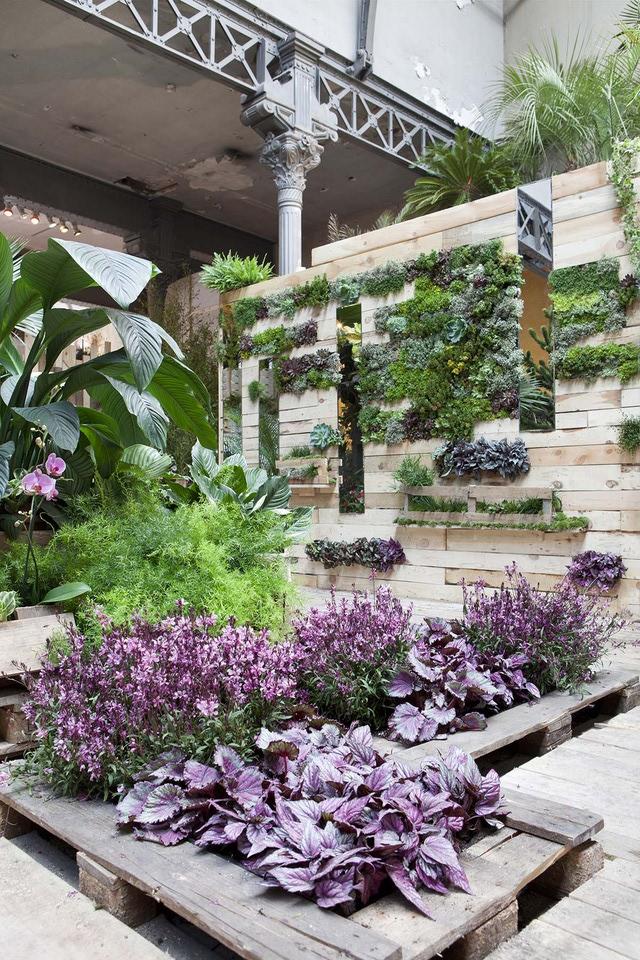Im genes con ideas para decorar el jard n con palets - Decorar el jardin ...