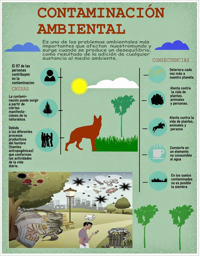Contaminaci n del agua aire suelo ac stica y ambiental for Materiales que componen el suelo