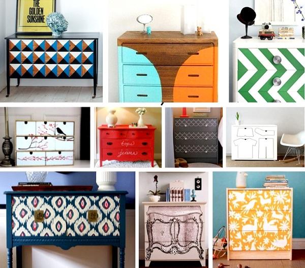 M s de treinta ideas en im genes para reciclar y decorar - Decorar reciclando muebles ...