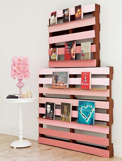 Imagenes con ideas para hacer muebles con palets para el - Muebles hechos con estibas ...