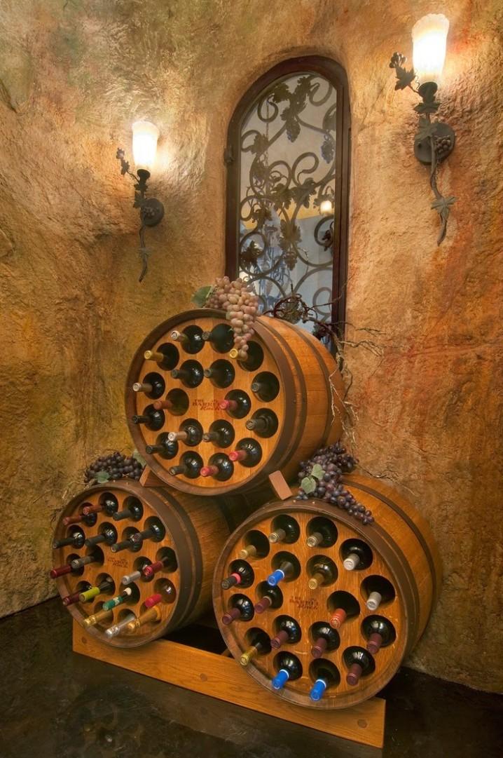 Ideas para decorar con barricas de vino (39)