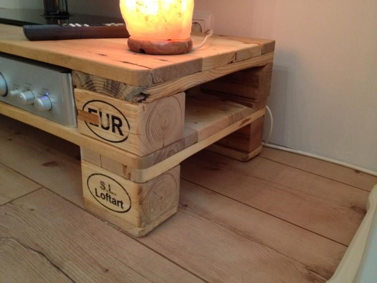 imágenes para hacer muebles para el living de tu hogar con palets