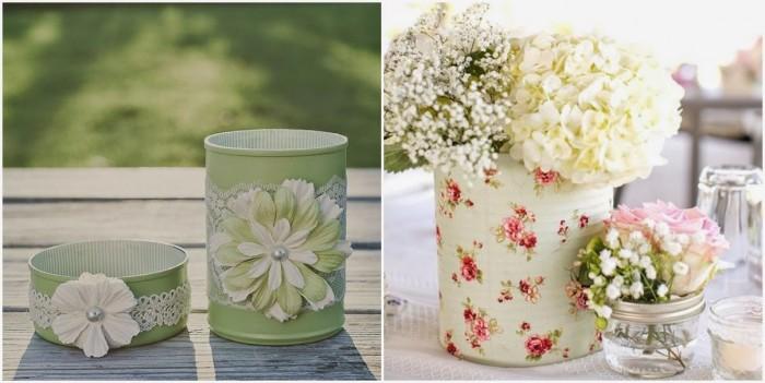 reciclar latas bodas