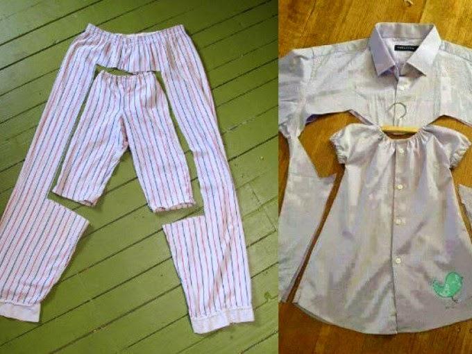 Resultado de imagen para transformar ropa vieja en nuevas prendas
