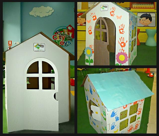 Im genes con ideas de casas hechas de carton ecolog a hoy for Jugar a hacer casas