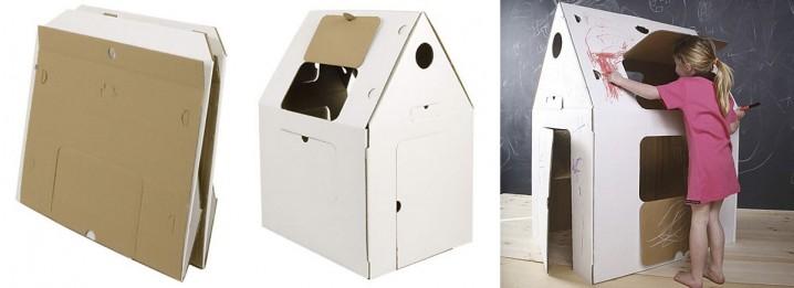 Im genes con ideas de casas hechas de carton ecolog a hoy - Casas para ninos de carton ...