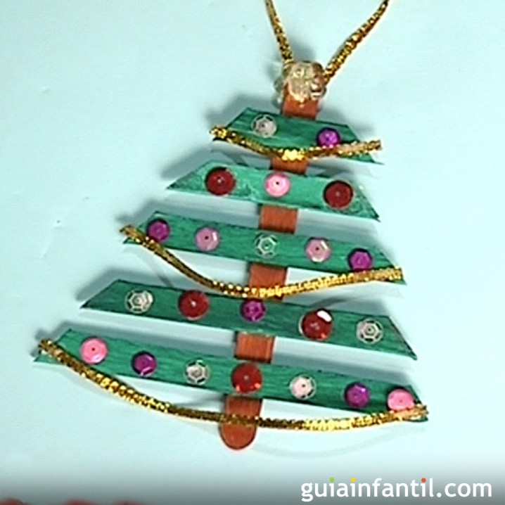 Adornos navide os reciclados para rboles de navidad - Como hacer cosas para navidad ...