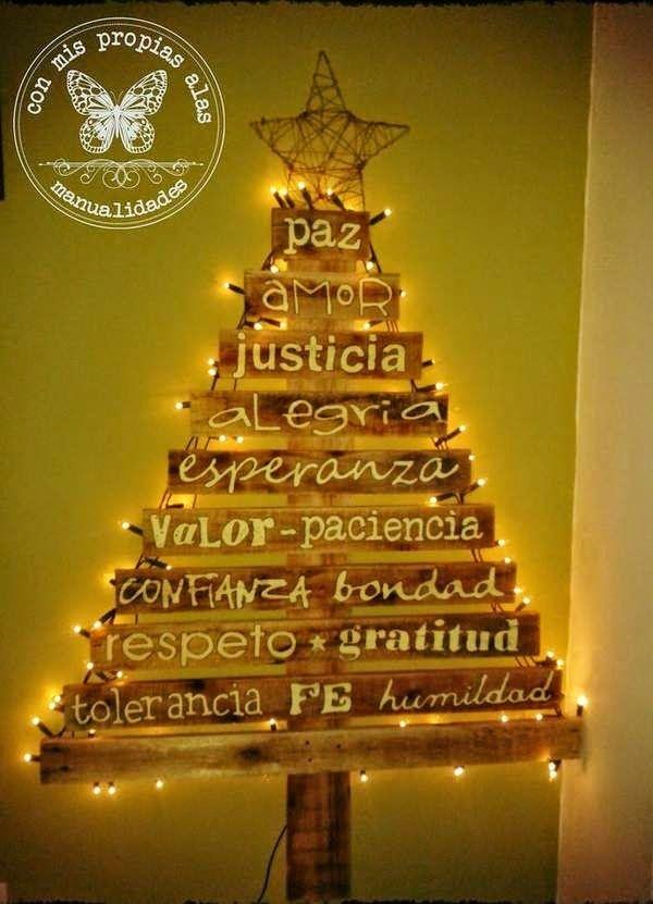 45 rboles de navidad con reciclados para ni os ecolog a hoy - Arboles de navidad artesanales ...