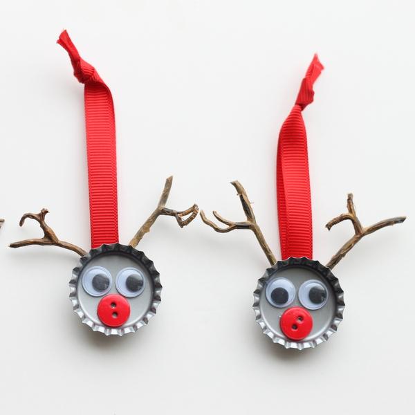 Adornos navide os reciclados para rboles de navidad - Los adornos navidenos ...
