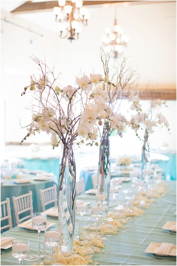Centros de mesa para casamiento con botellas frascos y - Mesa de centro vidrio ...