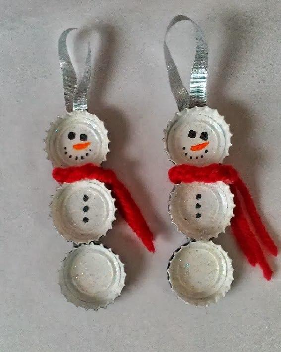 Decoracion Reciclada Navide?a ~ decoracion navidena 2014 con materiales reciclados munecos de nieve