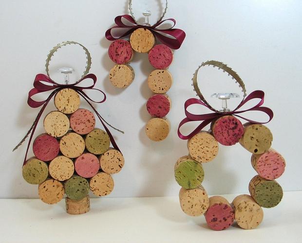 Decoracion Reciclada Navide?a ~ decoracion navidena con materiales reciclados adornos con tapones de