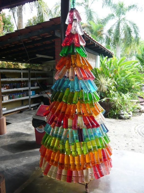 Como Decorar Las Calles En Navidad Con Material Reciclable