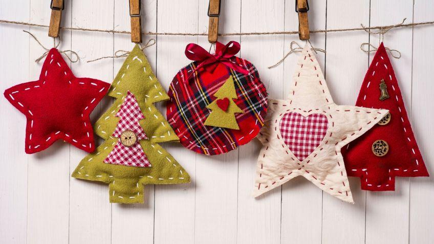 Adornos navide os reciclados para rboles de navidad - Adornos navidenos para comercios ...