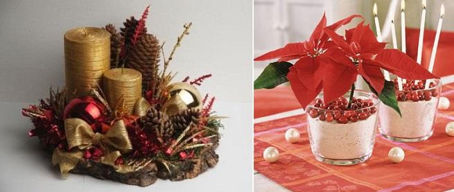 Centros de mesa navide os con materiales reciclados - Centros de mesa navidenos faciles ...
