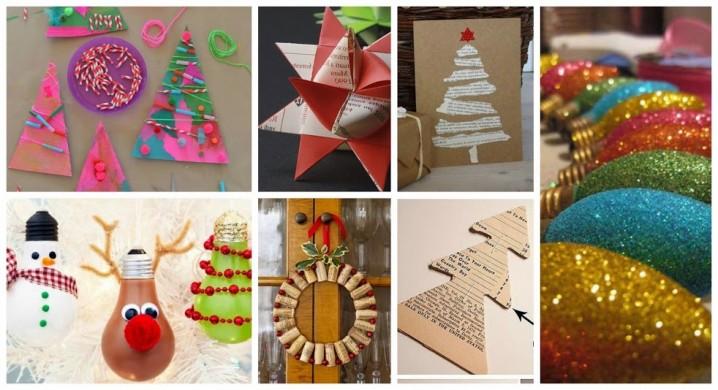 Im genes de navidad con decoraci n navide a reciclada for Decoraciones navidenas faciles de hacer