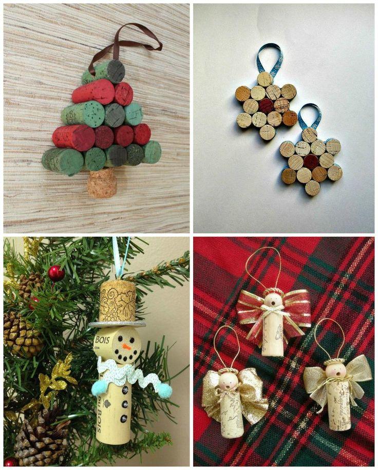 45 adornos reciclados originales para el rbol de navidad for Adornos originales para navidad
