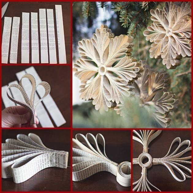 Decoraci n navide a con reciclaje adornos centros de for Decoraciones faciles navidad para casas