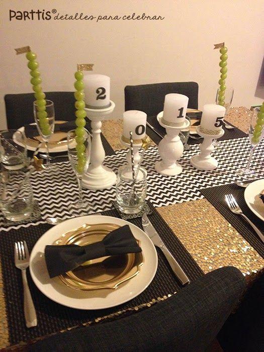C mo decorar reciclando la mesa para navidad y a o nuevo - Las mesas fiestas 2017 ...