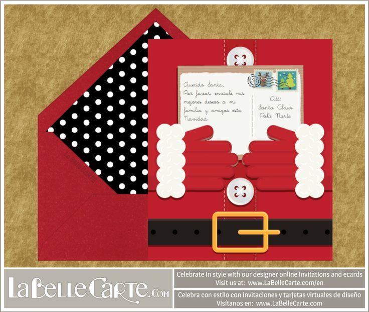 Manualidades de navidad tarjetas recicladas y originales - Como hacer una tarjeta de navidad original ...