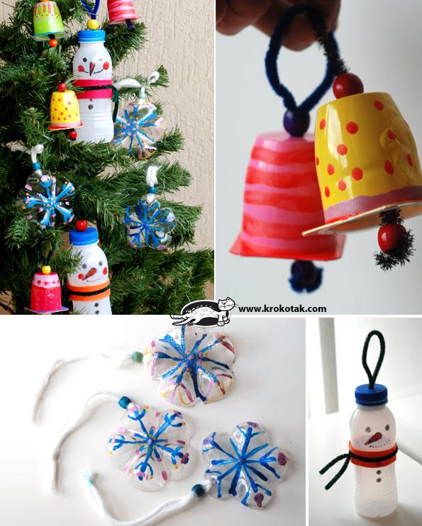 adornos reciclados originales para el rbol de navidad u ecologa hoy