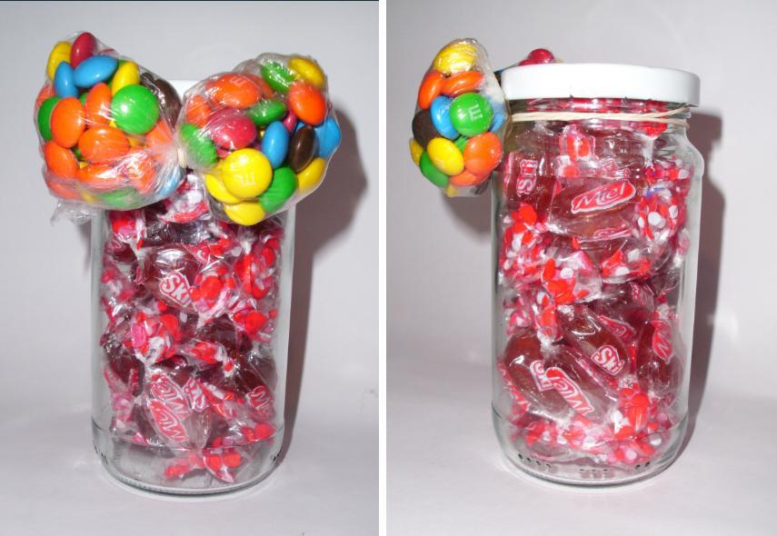 caramelera-con-corbata-de-mono-caramelos-chocolates-frasco-reciclado-reciclaje-manualidades-regalo-barato-ahorro-rapido-facil4