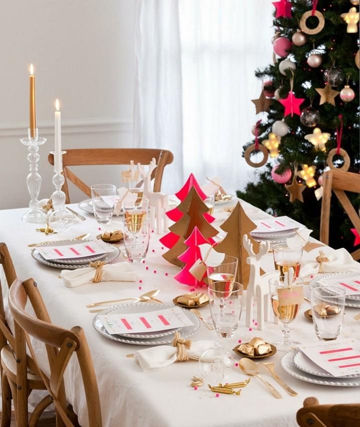 C mo decorar reciclando la mesa para navidad y a o nuevo - Como decorar mesas de navidad ...