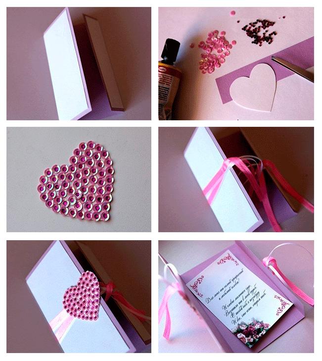 40 tarjetas de san valentin hechas con amor y materiales for Ideas para decorar la casa en san valentin