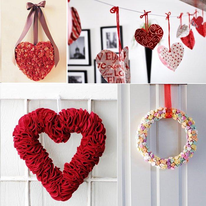45 regalos para san valentin hechos con materiales for Decoracion de pared para san valentin