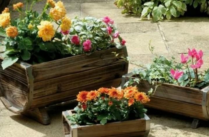 Manualidades con materiales reciclados para el jardin - Cosas para el jardin ...