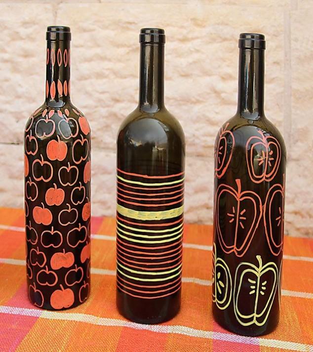 Reciclaje manualidades hechas con botellas de vidrio - Que hacer con botellas de vidrio ...