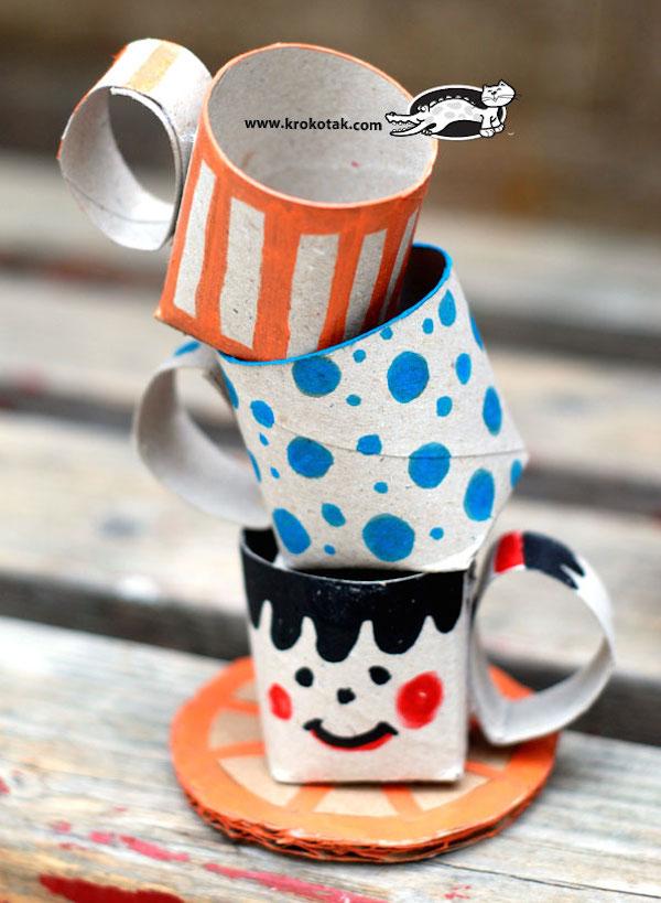 originales hechas con tubos de cartn y rollos de papel higinico u ecologa hoy
