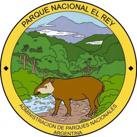 Emblema_Parque_Nacional_El_Rey,_provincia_de_Salta._Argentina