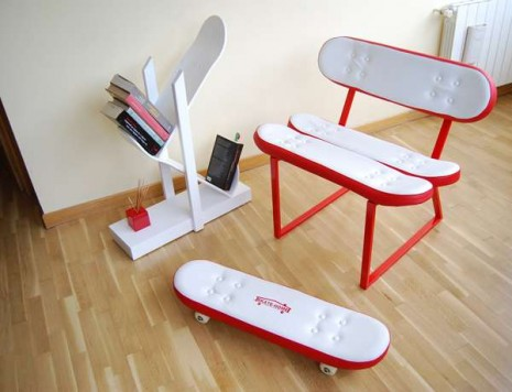 Skate-Board-arte-DIY-monopatin-butaca-reposapies-blog-Reparalia