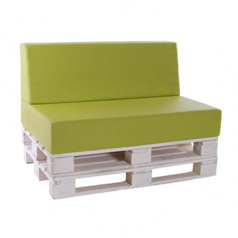 Troncos palets y tablas para r sticos sillones y bancos - Cojines para jardin ...