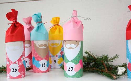 navidadmanualidad-calendario-de-adviento-rulos-papel-higienico