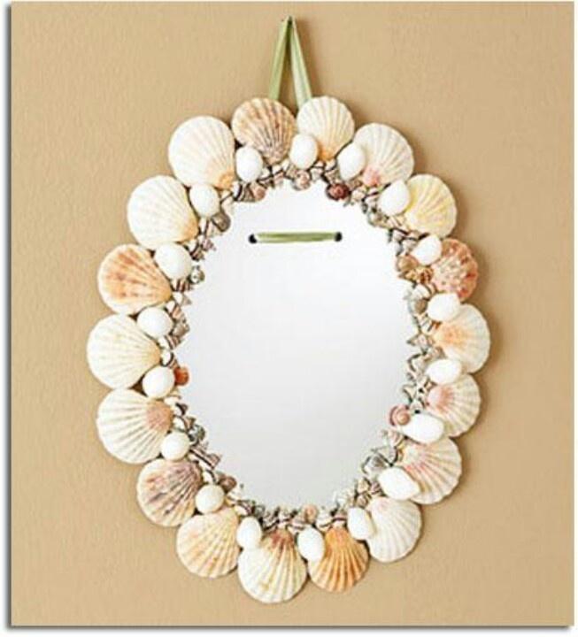 50 marcos de espejos hechos con materiales reciclados for Espejos de diseno para entradas