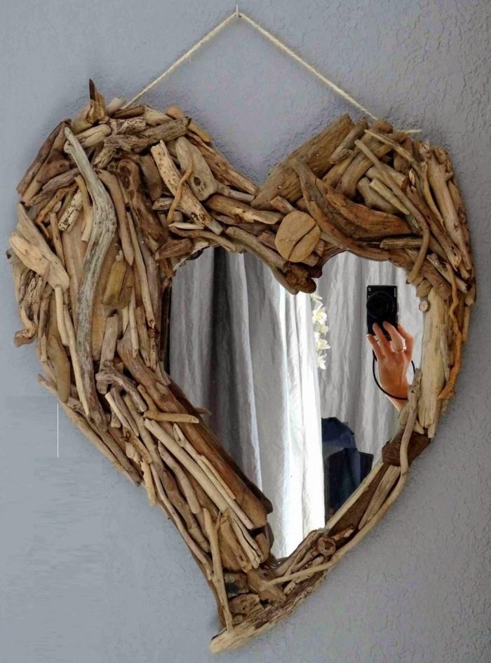 50 marcos de espejos hechos con materiales reciclados - Marcos rusticos para fotos ...