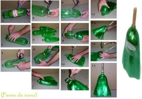 reciclaje-botella-plastica-en-escoba
