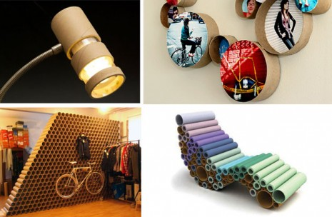 TKOTH-cardboard-tube-recycle-activities-with-kids-artcrafts-DIYPackaging-The-Kings-of-the-House-Decorate-your-house-cardboard-lamp-cardboard-wall-cardboard-chair