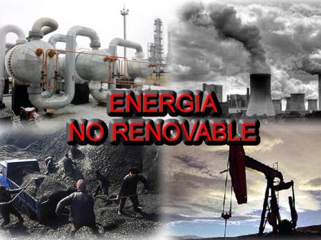 energia no renovable