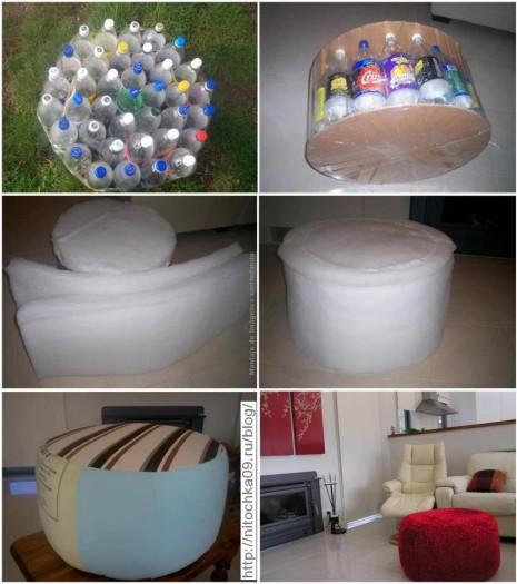 botellas-sillas
